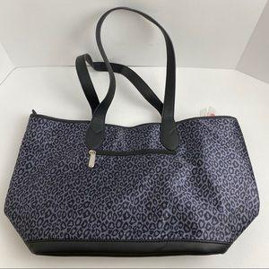 Penelope Ann Leopard Print Tote Bag